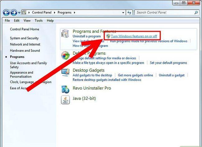 Prent getiteld Verwyder Windows Media Player 12 Stap 3