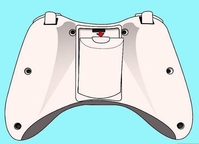 Prent getiteld Ontkoppel `n wireless Xbox 360-kontroleerder vir die skilder van stap 1