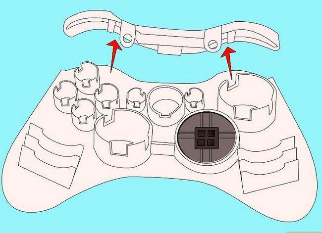 Prent getiteld Ontkoppel `n wireless Xbox 360-kontroleerder vir die skildery van stap 11