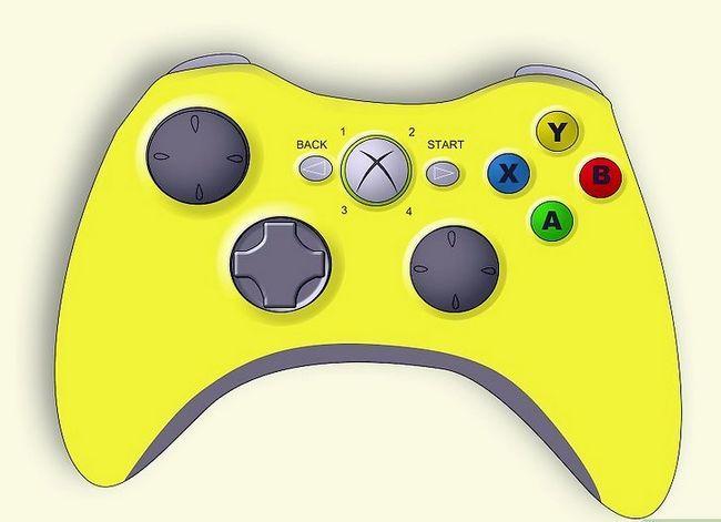 Prent getiteld Ontkoppel `n wireless Xbox 360-kontroleerder vir die skildery van stap 17