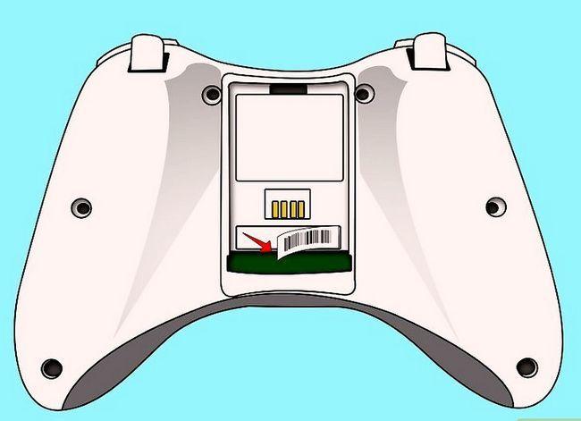 Prent getiteld Ontkoppel `n wireless Xbox 360-kontroleerder vir die skildery van stap 2