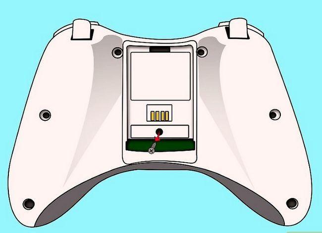 Prent getiteld Ontkoppel `n wireless Xbox 360-kontroleerder vir die skildery van stap 3