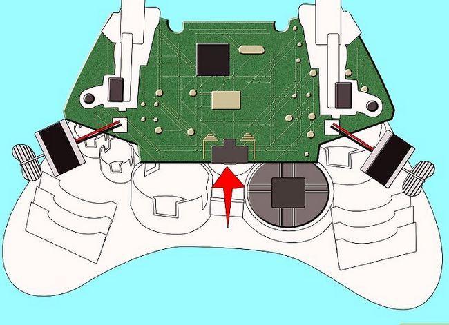 Prent getiteld Ontkoppel `n wireless Xbox 360-kontroleerder vir die skildery van stap 6