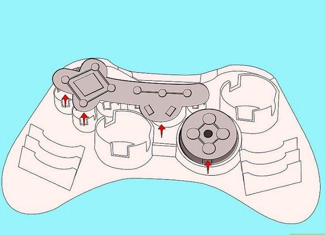 Prent getiteld Ontkoppel `n wireless Xbox 360-kontroleerder vir die skildery van stap 7