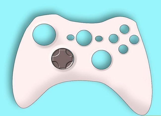 Prent getiteld Ontkoppel `n wireless Xbox 360-kontroleerder vir die skildery van stap 8