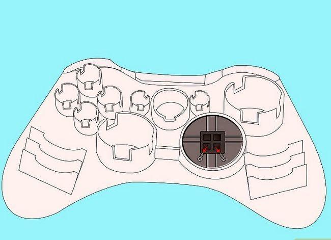 Prent getiteld Ontkoppel `n wireless Xbox 360-kontroleerder vir die skildery van stap 9
