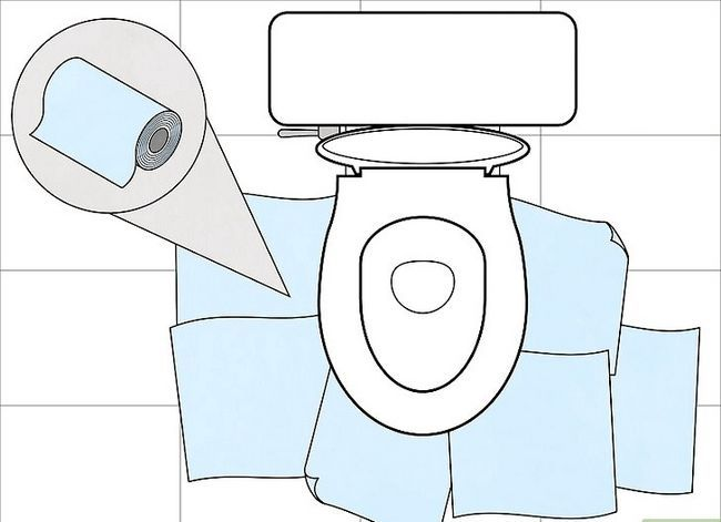 Prent getiteld Unclog a Toilet Stap 2