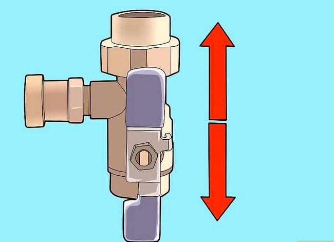 Prent getiteld Verskuif die waterverhitter van u RV Stap 5