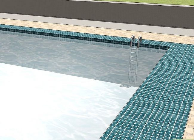 Prent getiteld Resurface a Pool Step 18