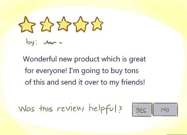 Beeld getiteld Spot `n Fake Review op Amazon.Com Stap 2Bullet1