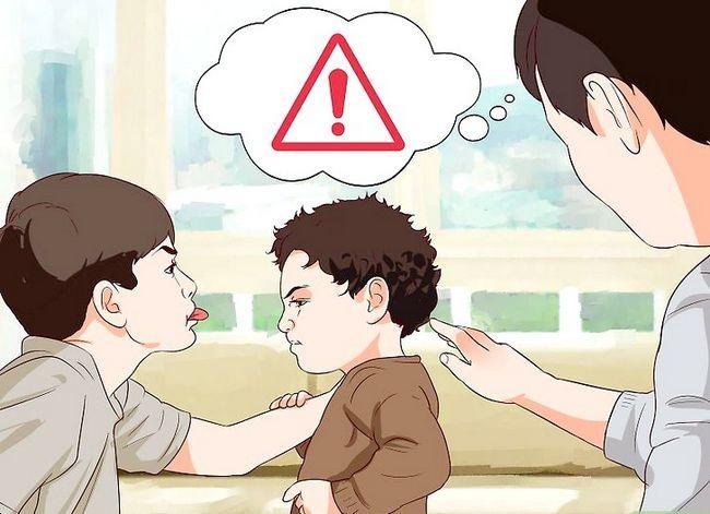 Prent getiteld Stop Aggressive Toddler Gedrag Stap 10
