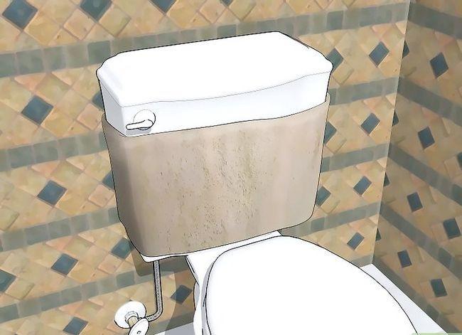Prent getiteld Stop Toilet Tank Sweating Stap 1
