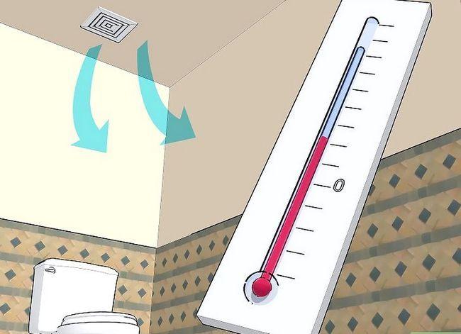 Prent getiteld Stop Toilet Tank Sweating Stap 3