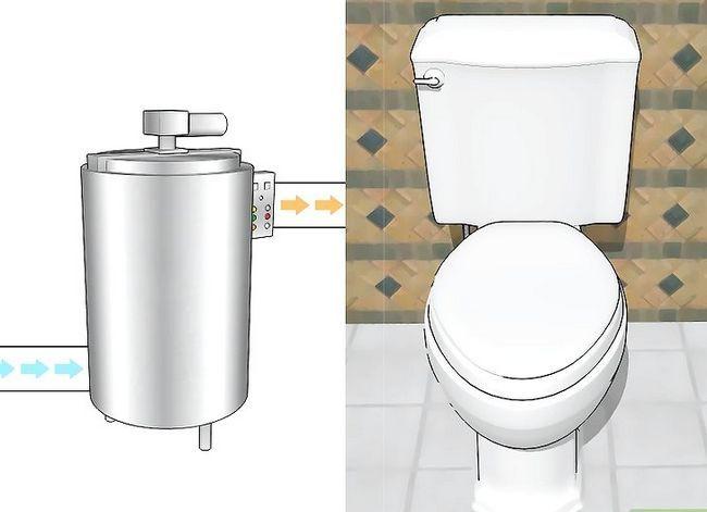 Prent getiteld Stop Toilet Tank Sweating Stap 5