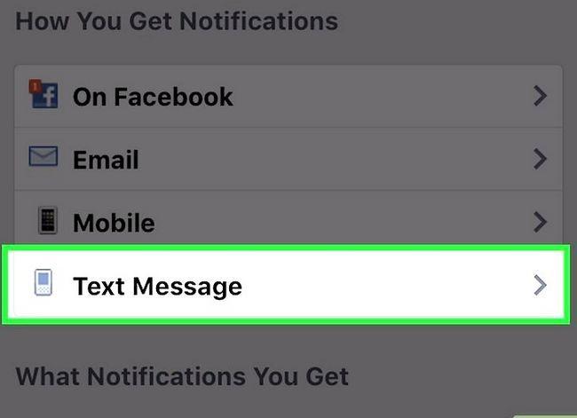 Prent getiteld Stop Facebook tekste Stap 11