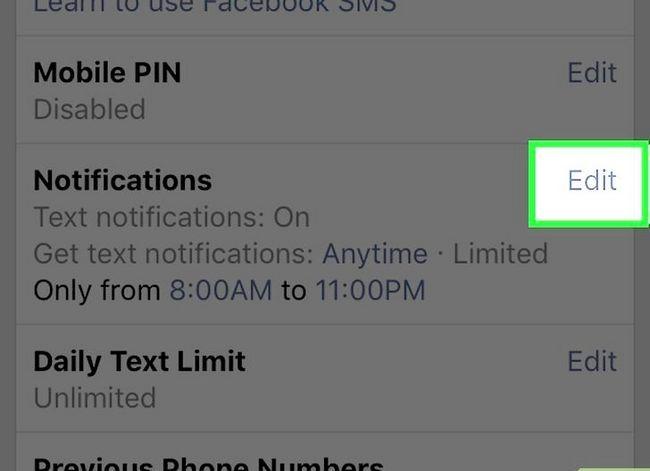 Prent getiteld Stop Facebook Tekste Stap 12