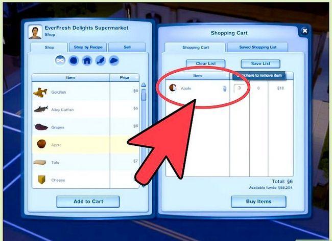 Prent getiteld Bepaal die geslag van jou baba in die Sims 3 Stap 2