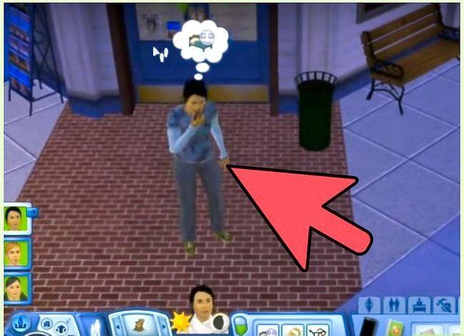 Prent getiteld Bepaal die geslag van jou baba in die Sims 3 Stap 3
