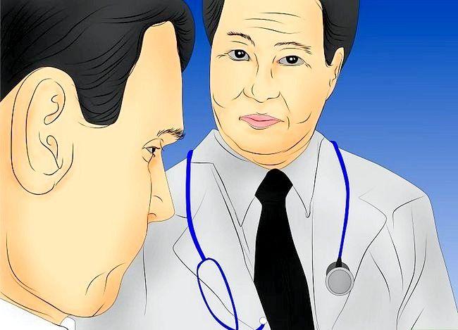 Prent getiteld Diagnose Multiple Sclerosis Stap 1