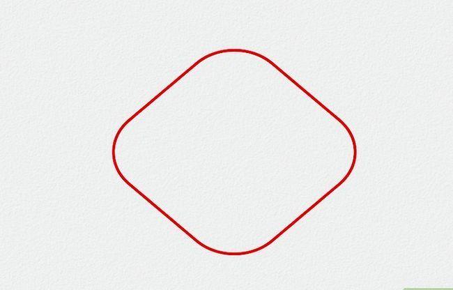 Prent getiteld Teken Elmo Stap 1