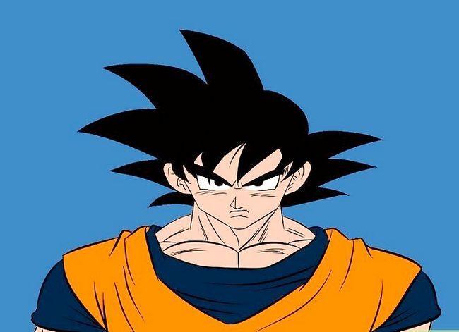 Prent getiteld Teken Goku Stap 18