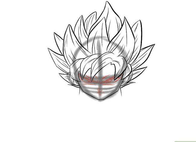 Prent getiteld Teken Goku Stap 27