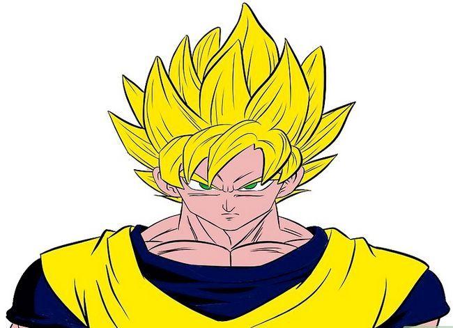 Prent getiteld Teken Goku Stap 31