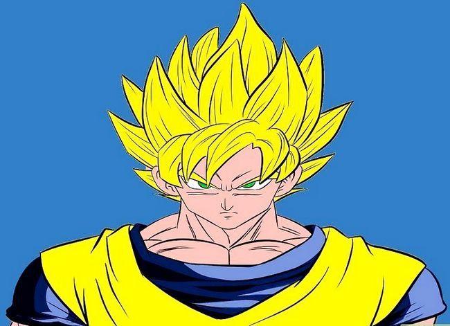 Prent getiteld Teken Goku Stap 32