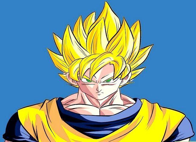 Prent getiteld Teken Goku Stap 33
