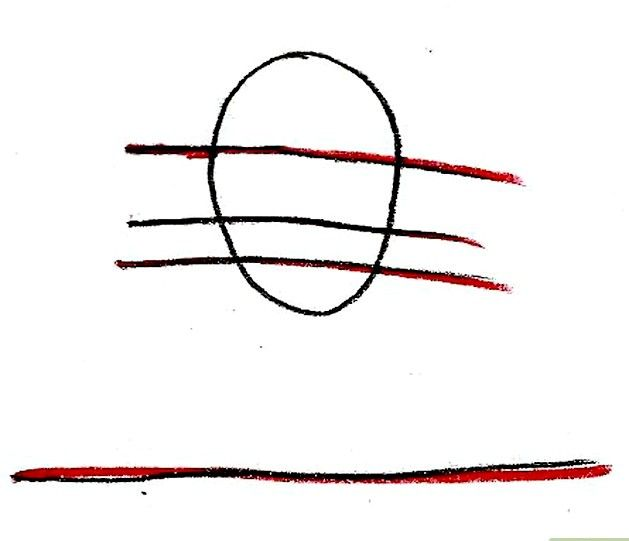 Prent getiteld Teken Hermione Granger Stap 3