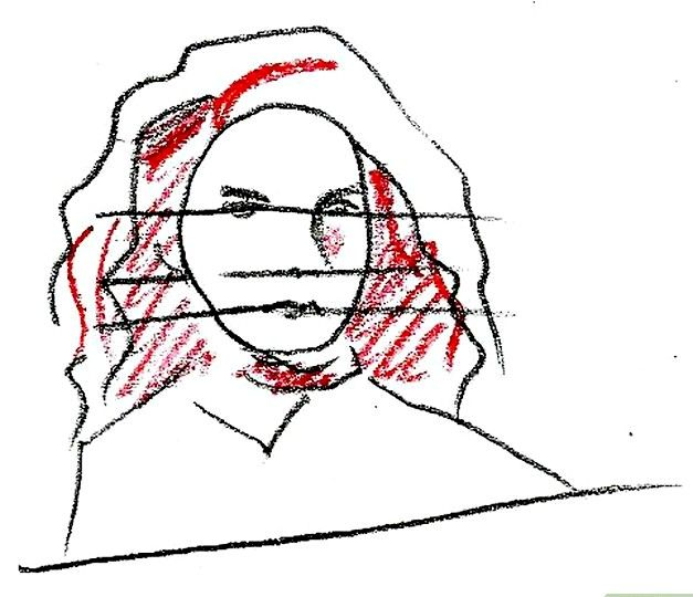 Prent getiteld Teken Hermione Granger Stap 7