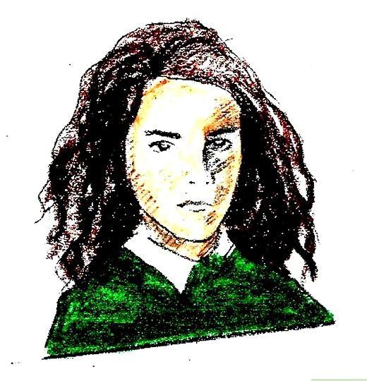 Prent getiteld Teken Hermione Granger Intro