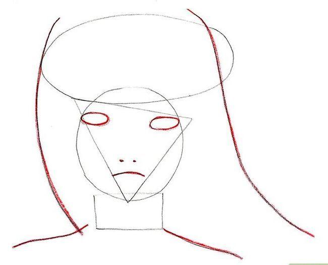 Prent getiteld Teken Hinata Stap 5