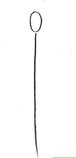 Prent getiteld Teken Kisame Stap 1