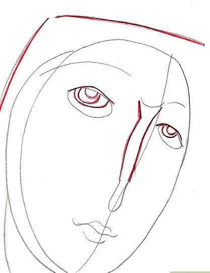 Prent getiteld Eyes Stap 4 7