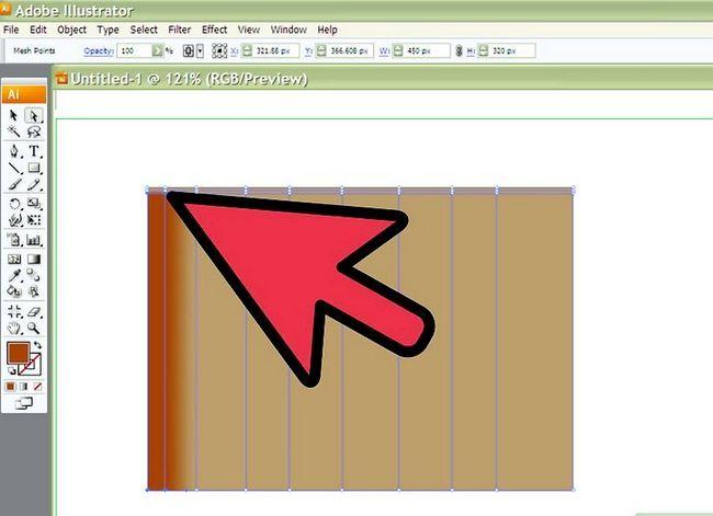Prent getiteld Teken Stof in Adobe Illustrator Cs3 Stap 3