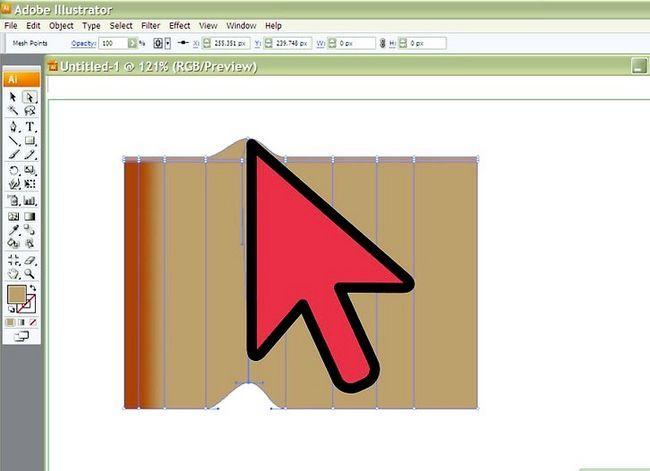 Prent getiteld Teken Stof in Adobe Illustrator Cs3 Stap 4