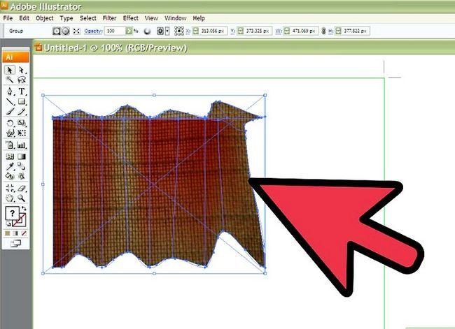 Prent getiteld Teken Stof in Adobe Illustrator Cs3 Stap 9