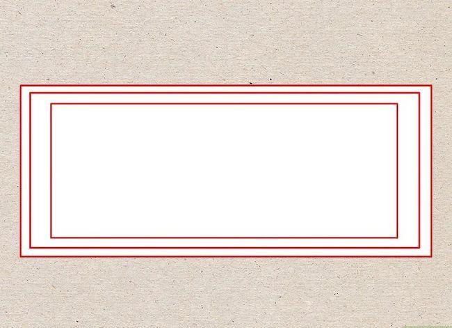 Prent getiteld Teken `n Dollar Bill Stap 1