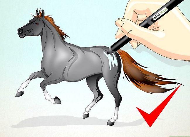 Prent getiteld Teken `n Realistic Looking Horse Stap 24