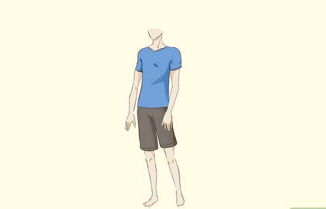 Prent getiteld Teken `n Anime Body Step 26