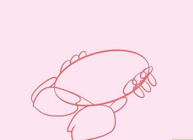 Prent getiteld Teken `n Skerpioen Stap 5
