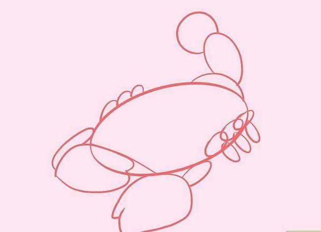Prent getiteld Teken `n Skerpioen Stap 6