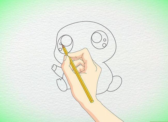 Prent getiteld Teken `n Anime Hamster Stap 5