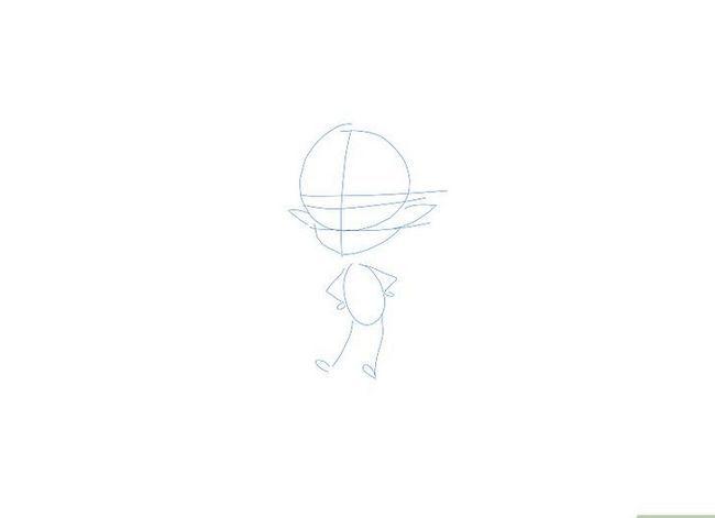 Prent getiteld Teken `n Fairy Stap 15