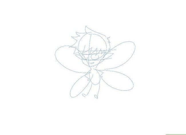 Prent getiteld Teken `n Fairy Step 18