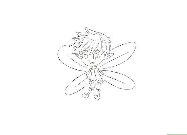 Prent getiteld Teken `n Fairy Step 21