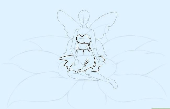Prent getiteld Teken `n Fairy Stap 12