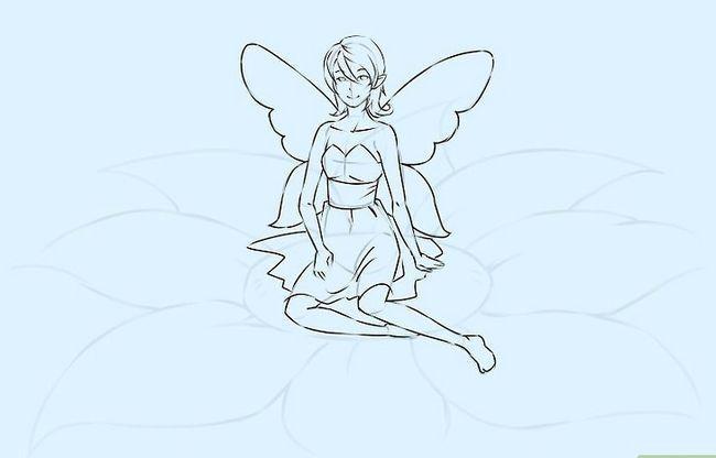 Prent getiteld Teken `n Fairy Stap 14