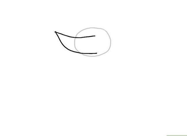 Prent getiteld Teken `n Monster Stap 2